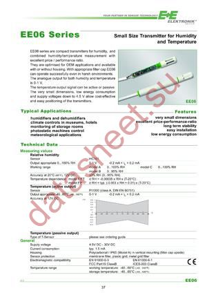EE06-FT1B6-K500 datasheet скачать даташит
