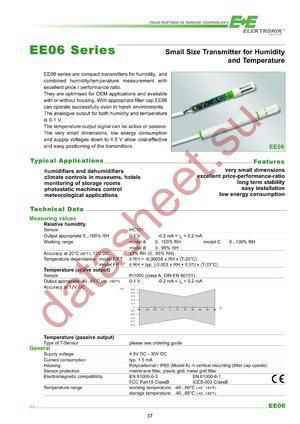 EE06-FT1E4-K500 datasheet скачать даташит