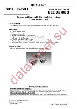 EE2-5SNKX-NIL datasheet скачать даташит