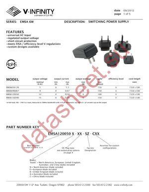 EMSA150040 datasheet скачать даташит