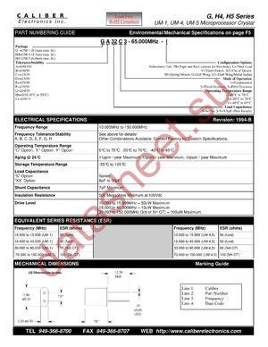 GF32C3 datasheet скачать даташит