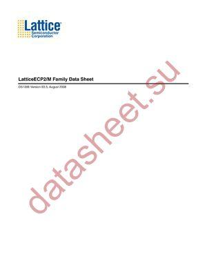 LFE270SE-6F672I datasheet скачать даташит