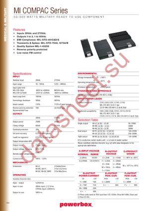 MI-QC63-IX datasheet скачать даташит