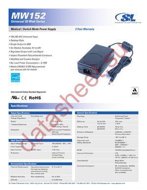MW152KA05XX datasheet скачать даташит