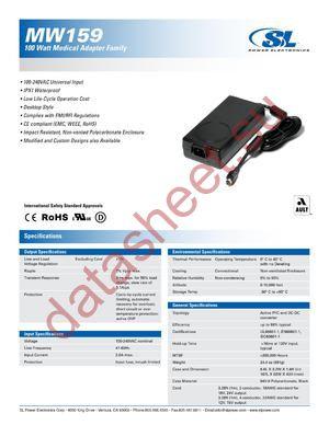 MW159RA1803F01 datasheet скачать даташит