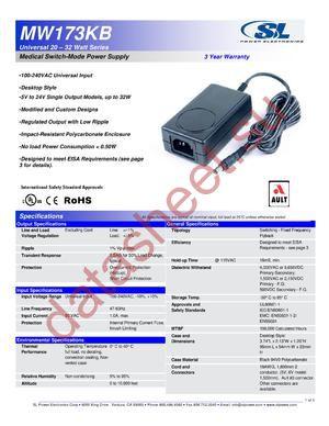 MW173KB0603F01 datasheet скачать даташит