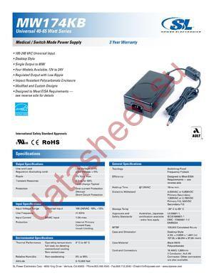 MW174KB18XX datasheet скачать даташит