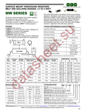MW2-100 datasheet скачать даташит