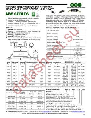 MW2X-100 datasheet скачать даташит