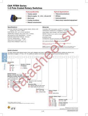 RTBH302BCSADD6G datasheet скачать даташит