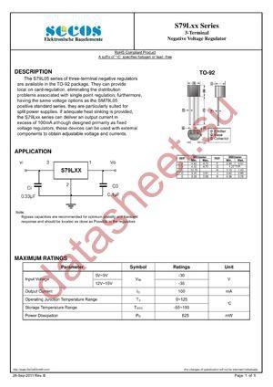 S79L15-B datasheet скачать даташит
