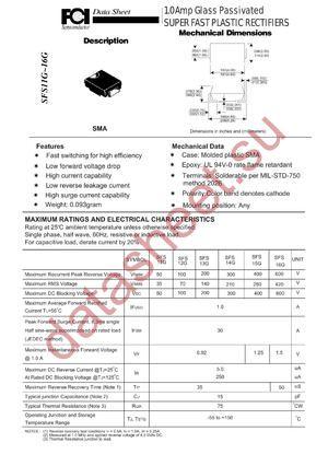 SFS13G datasheet скачать даташит