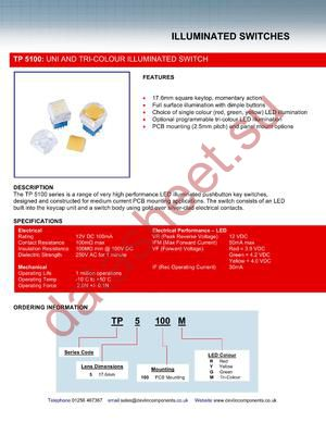 TP5100Y datasheet скачать даташит