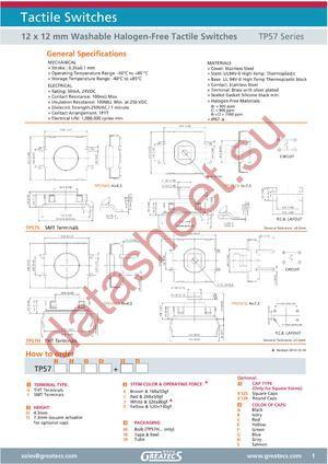 TP57H73CTBK12SA datasheet скачать даташит
