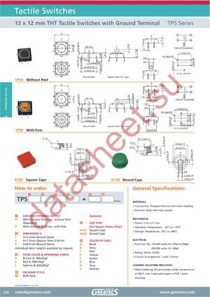 TP5N1CBKK12SC datasheet скачать даташит