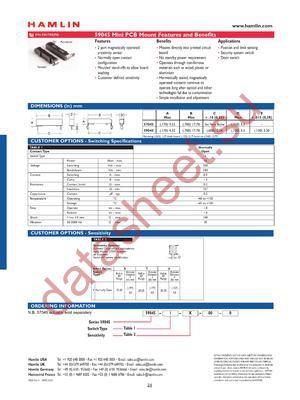 59045-I-U-00-0 datasheet скачать даташит
