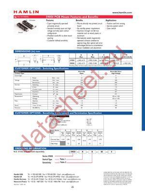 59050-I-U-00-0 datasheet скачать даташит