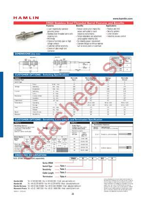 59060-3-V-03-A datasheet скачать даташит