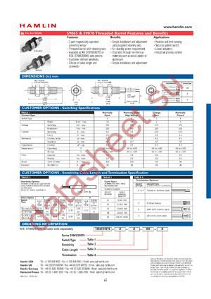 59065-4-V-02-E datasheet скачать даташит