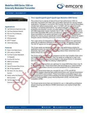 6000-0SC2-13011 datasheet скачать даташит