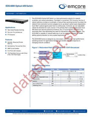 6000-OS3-5242 datasheet скачать даташит
